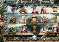 Legend of Terra 5 reel slots game